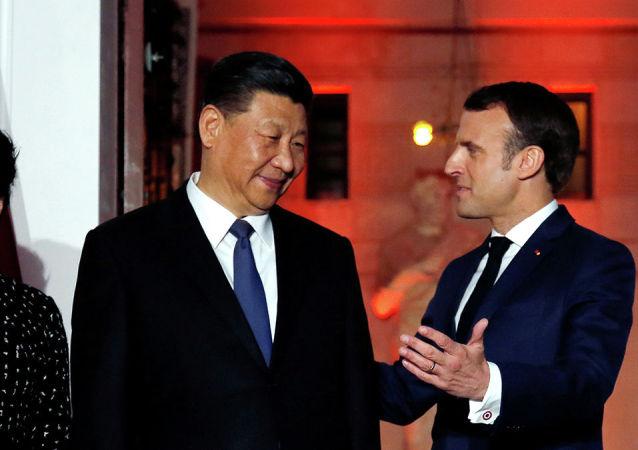 法国总统同中方会谈时将代表欧盟发声