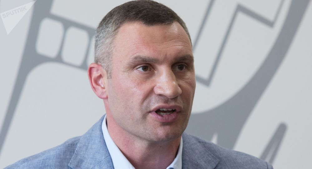 乌克兰基辅市市长维塔利·克里奇科
