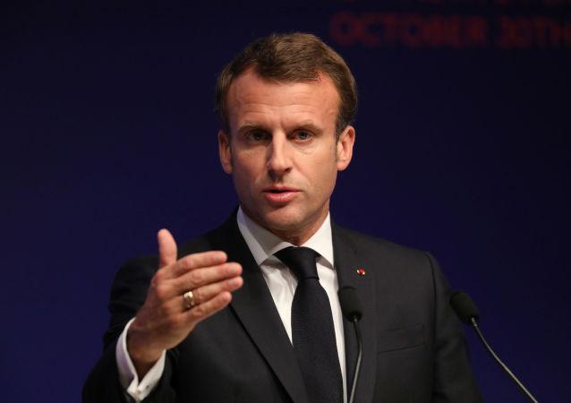 法国总统马卡龙