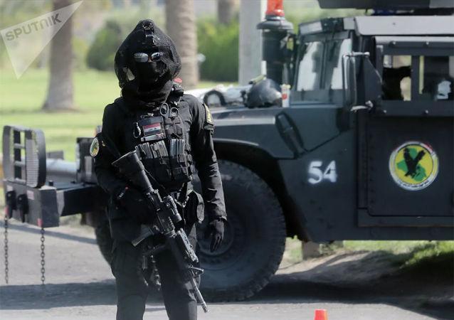 伊拉克军队否认在驱赶示威者时使用枪支