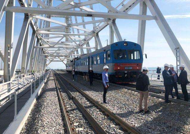 克里米亚铁路大桥