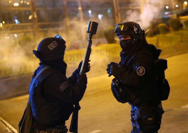 玻利维亚警察