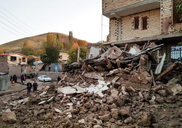 伊朗地震(资料图片)