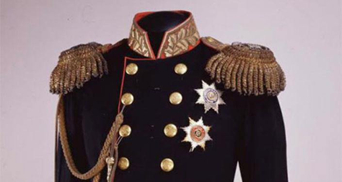 亚历山大二世的加冕制服(1856年)
