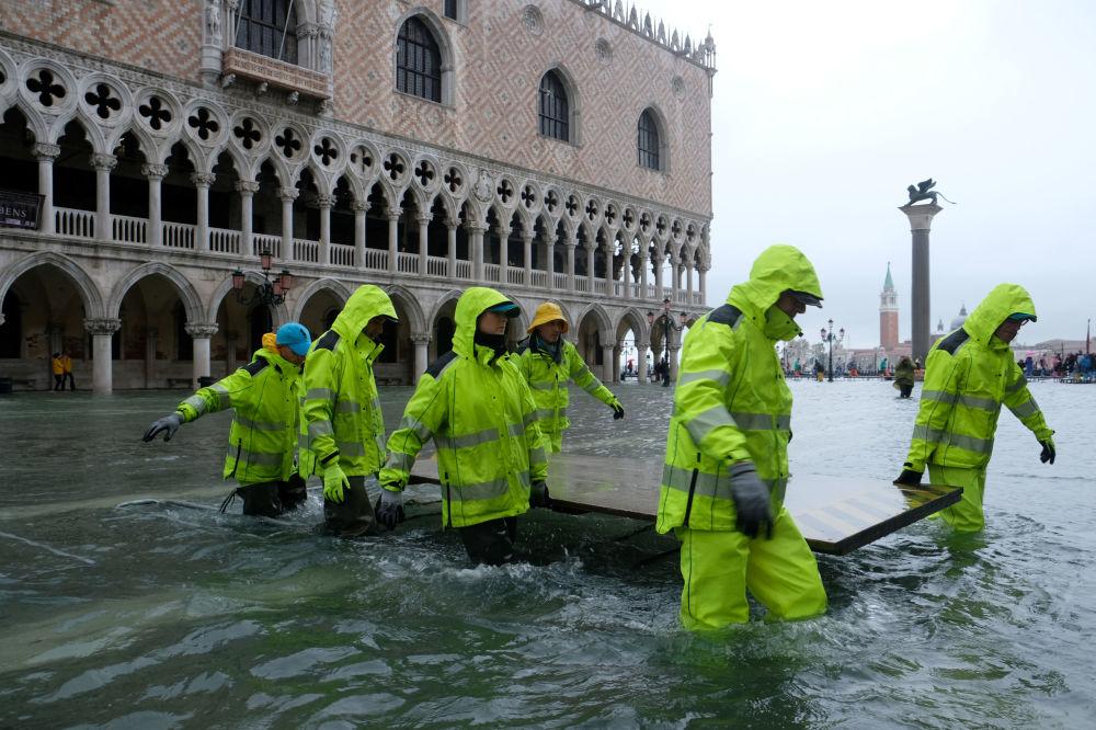威尼斯水灾