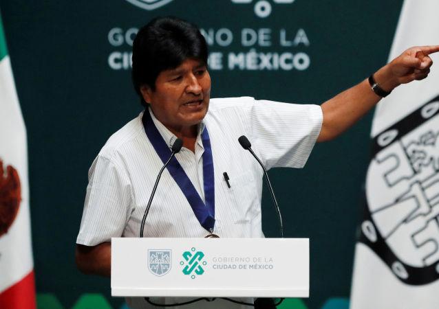 玻利维亚前总统莫拉莱斯