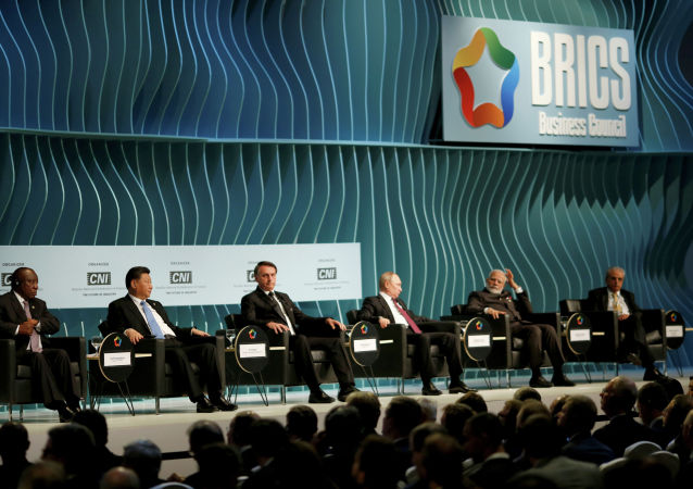 金砖国家领导人为巴西峰会开了好头