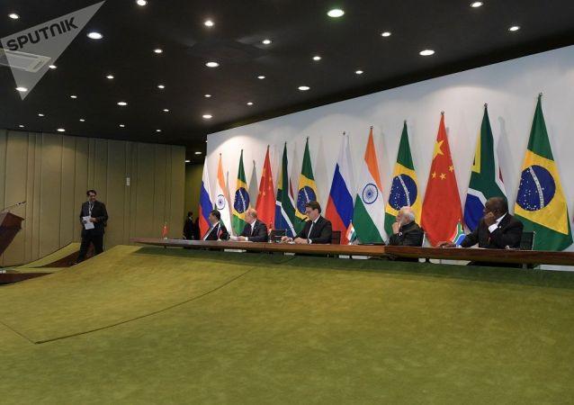 金砖国家领导人在巴西峰会后通过联合宣言