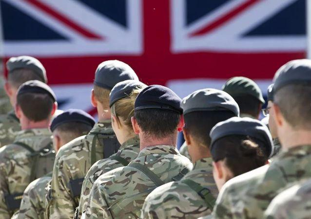 英国军人在阿富汗