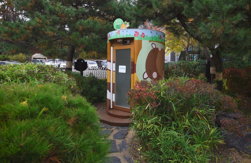 """韩国水原市中的""""厕所百态""""主题公园"""