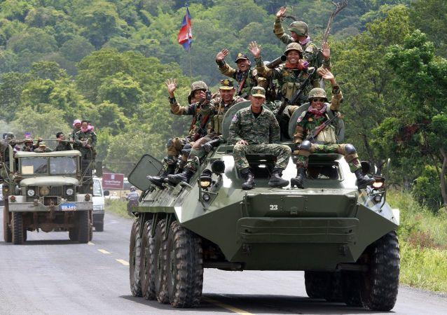 柬埔寨军方