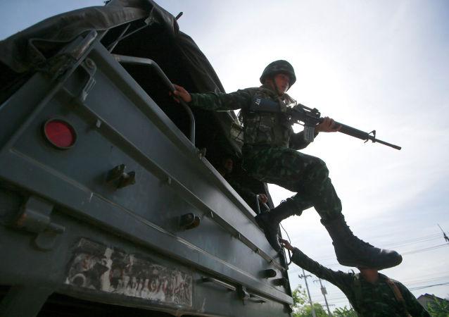 中国帮助泰国提升军事实力