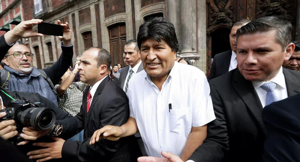 玻利维亚前总统埃沃·莫拉莱斯