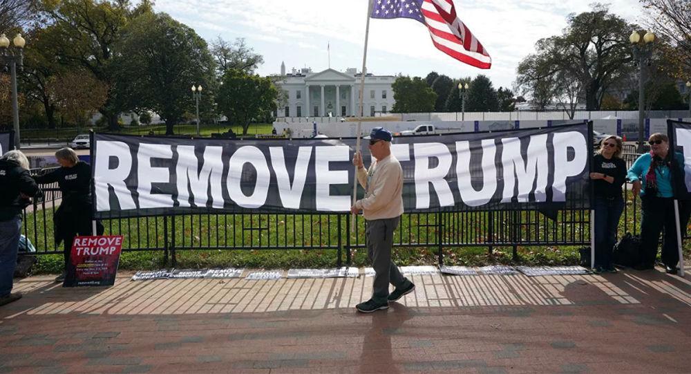 美国民主党人不排除追加对特朗普的弹劾条款