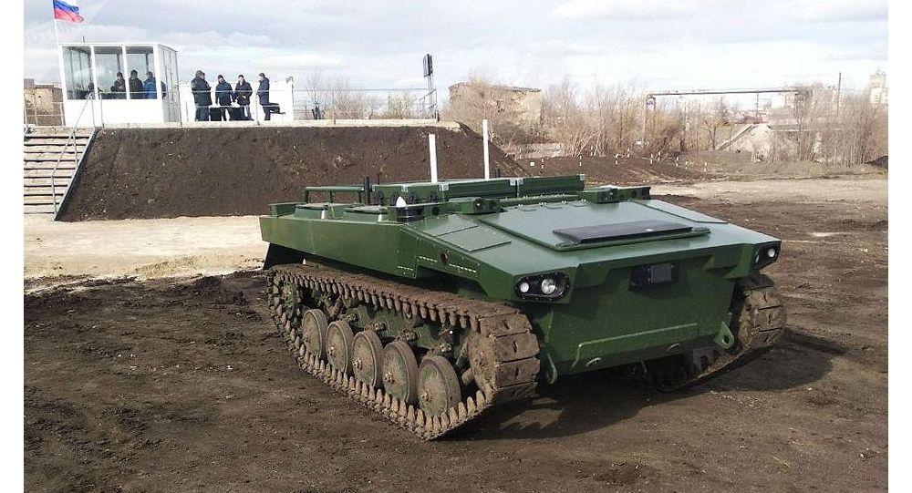 """俄""""標識器""""戰斗機器人將配備自殺式攻擊無人機"""