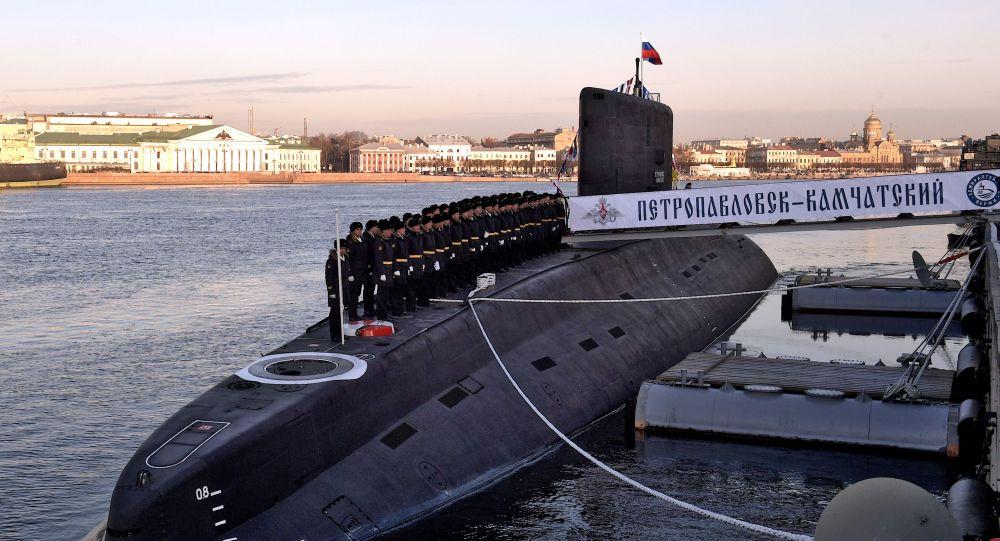 """636.3型""""堪察加地区彼得罗巴甫洛夫斯克""""号柴电潜艇"""