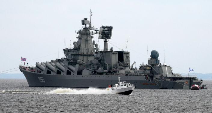 """导弹巡洋舰 """"乌斯季诺夫元帅""""号"""
