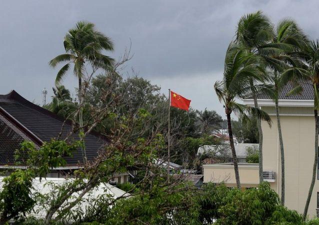 中国大使馆在 汤加王国