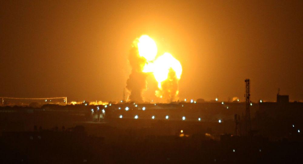 以色列证实轰炸加沙媒体大楼哈马斯暗示将做出回应