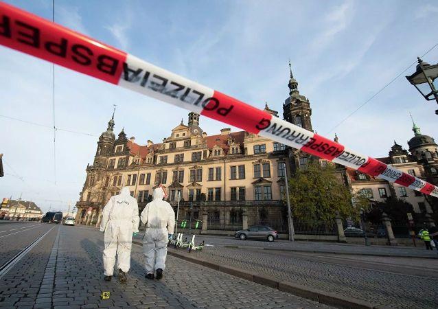 德累斯顿证实博物馆文物被盗 其中有萨克森白钻