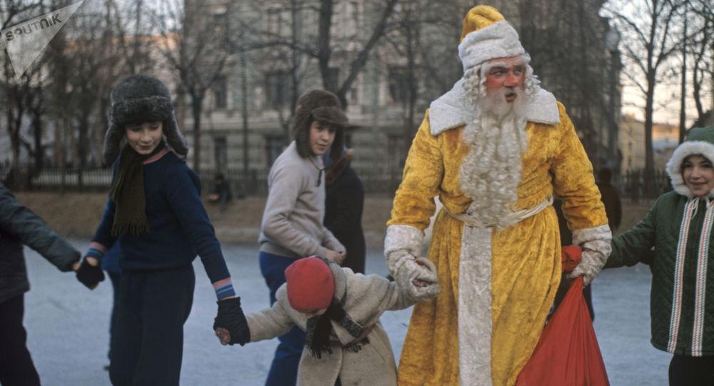 俄罗斯人过年