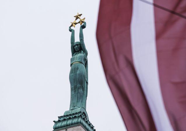 拉脱维亚里加自由纪念碑