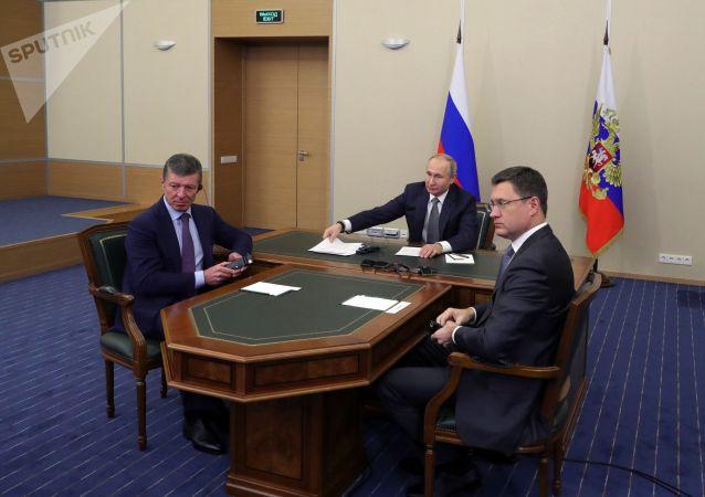 """普京:""""西伯利亚力量""""的启动使俄中合作提升到新的高度"""