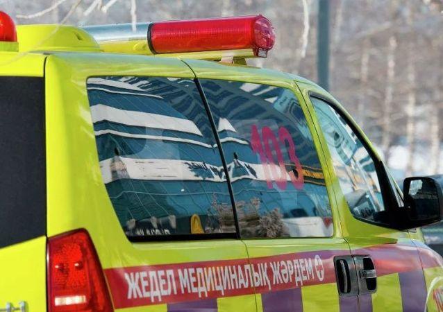 哈萨克斯坦救护车