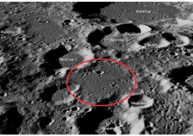 "NASA发布坠毁在月球的印度""维克拉姆""号着陆器照片"