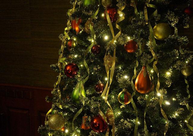 新年圣诞树