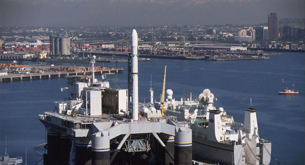 """俄""""海上发射""""浮动平台持有者S7集团开始研制火箭"""