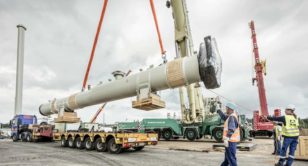 美国防预算制裁两条俄罗斯天然气管道