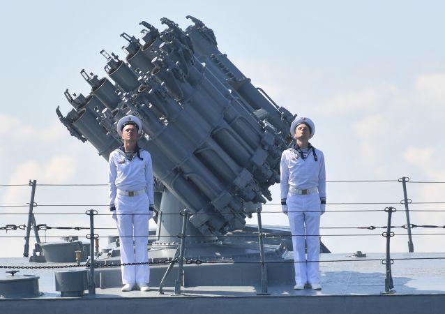 俄罗斯海军(资料图片)
