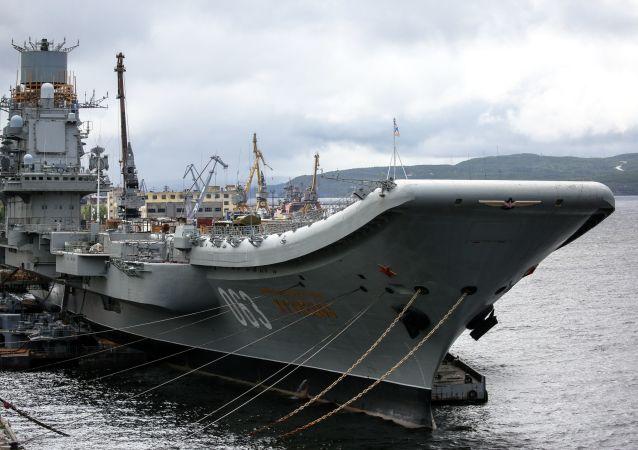 """俄联合造船集团总裁:""""库兹涅佐夫海军上将""""号航空母舰火灾造成的损失超过3亿卢布"""