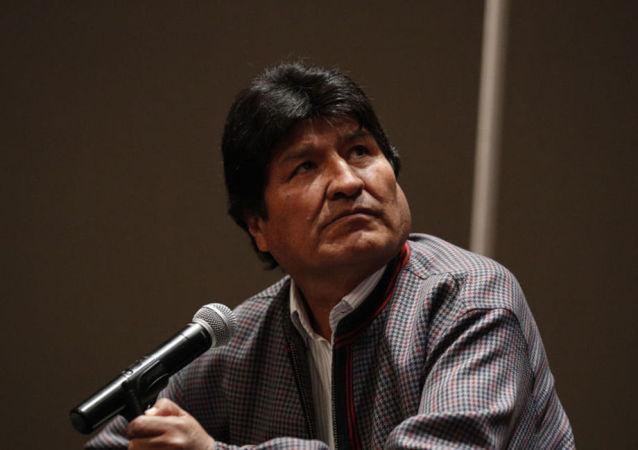 玻利维亚前总统莫拉莱斯感染新冠病毒