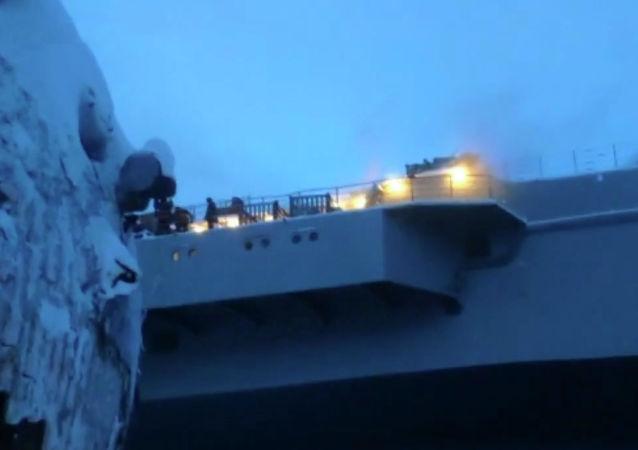 俄联合造船集团总裁:火灾不会对航母的维修进度造成严重影响
