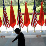 美国无法将其他国家卷入美中对抗