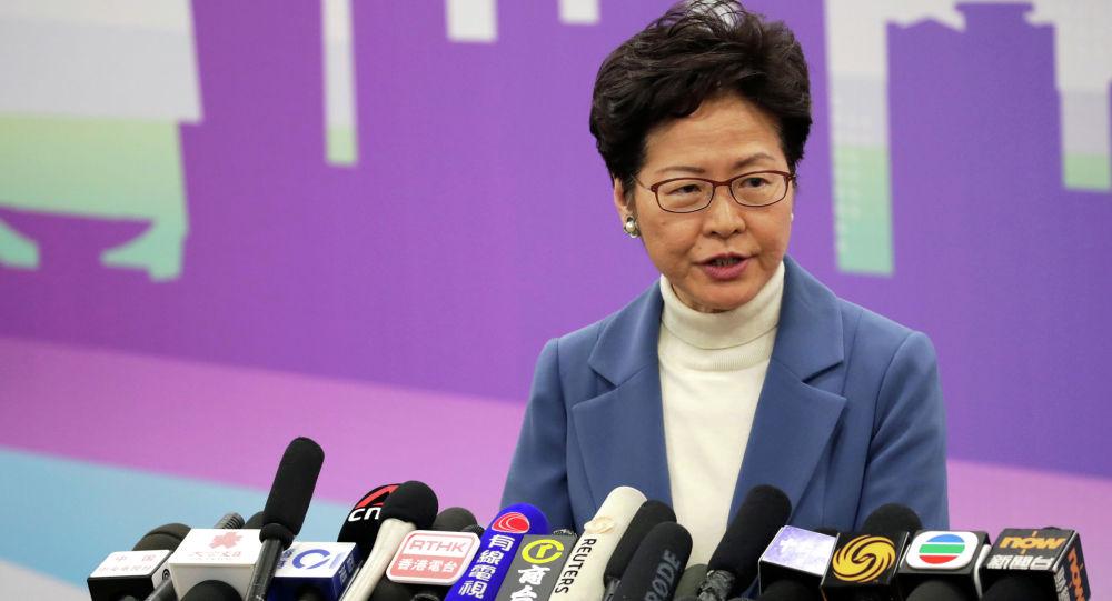 香港特别行政区行政长官林郑月娥