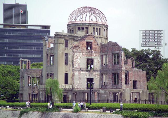 广岛当局决定拆除原子弹爆炸后幸存的建筑物