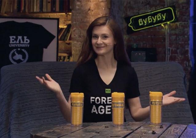 布京娜在RT电视台找到了工作