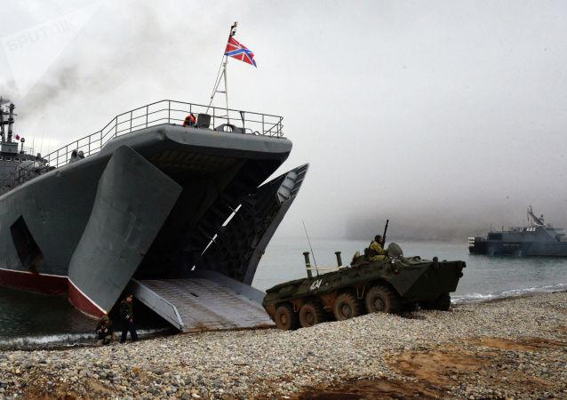 """俄印海军完成""""Indra Navy-2020""""军演"""