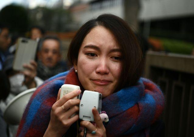 """日本反性骚扰运动""""MeToo""""的标志性人物在备受瞩目的强奸案中胜诉"""