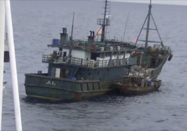 俄安全局解释扣留五艘日本渔船原因