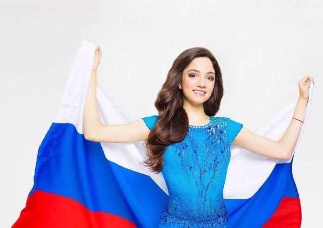 两次获得世界冠军的俄罗斯选手叶夫根尼娅•梅德韦杰娃