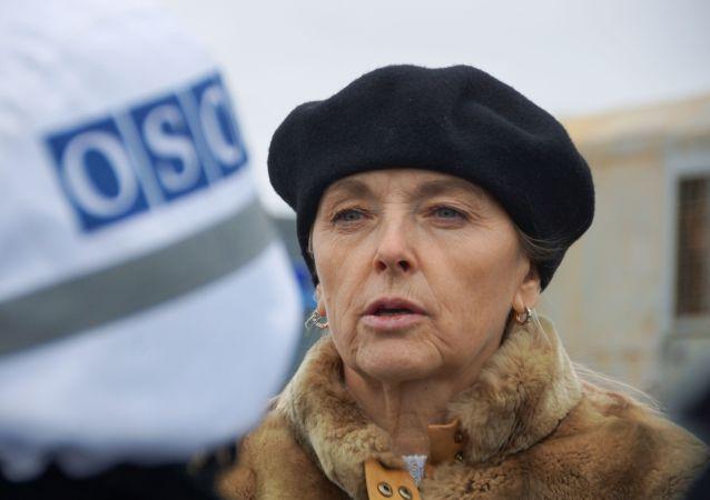 卢甘斯克人民共和国交换战俘工作小组组长奥尔加·科布采娃