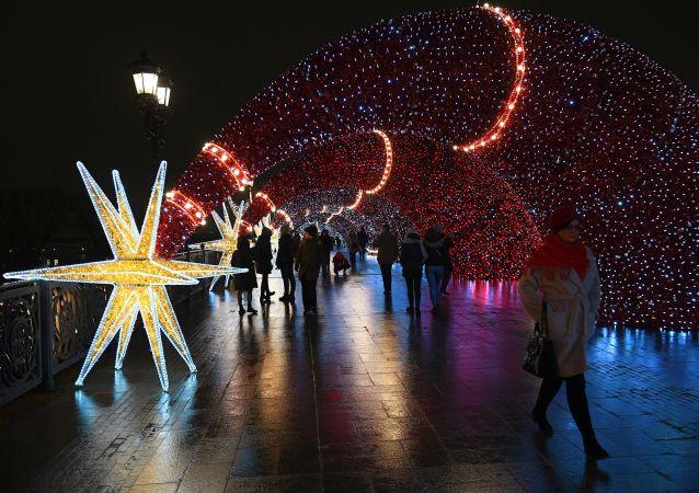 莫斯科12月18日的气温创133年来的最高记录