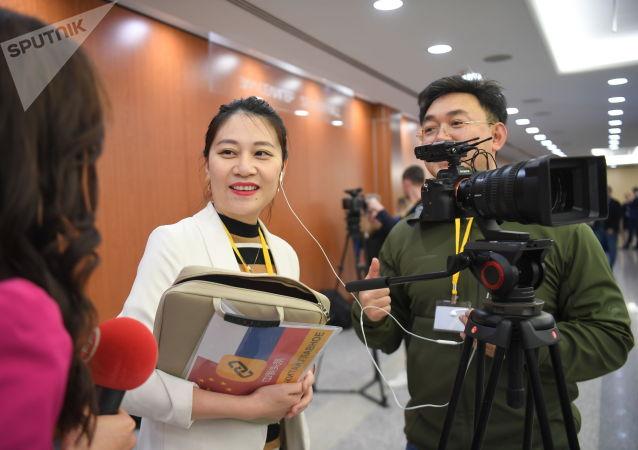中国媒体记者