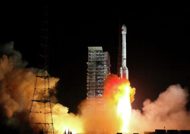 中国成功发射遥感三十号08组卫星 资料图