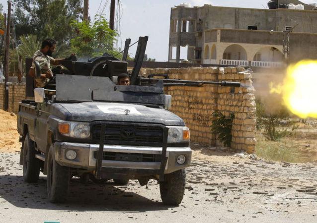 利比亚民族团结政府的军人