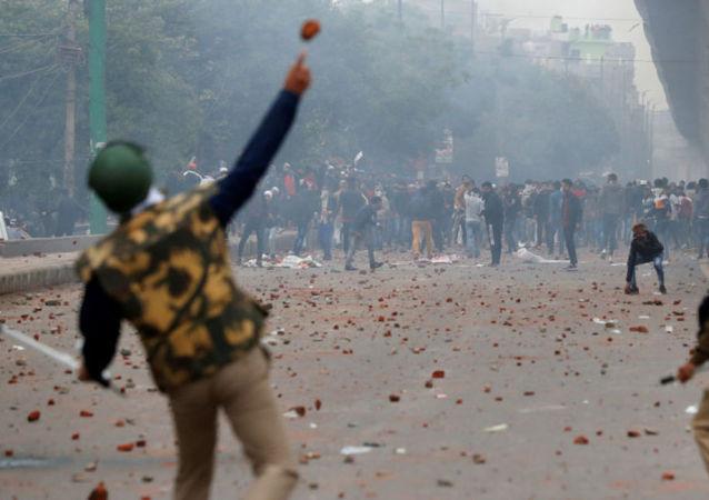 印度示威活动